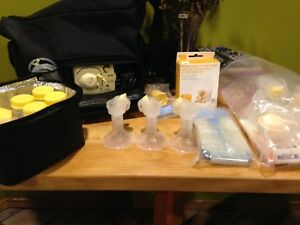 Medela double breast pump electric