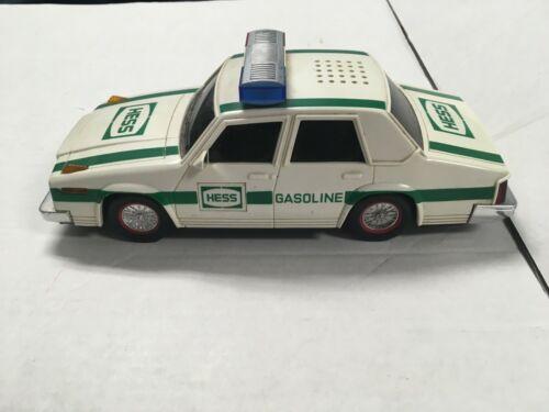 Vintage Hess Police Car