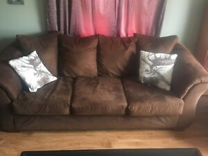 Couch and chair ! Fantastic condition .