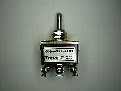 So Switch Toggle Ononmomentary Heavy Duty 20a125v Dpdt 6 Lug 702mw Toowei