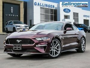 2018 Ford Mustang GT PREMIUM w/SAFE & SMART PKG, WHEEL UPGRADE,