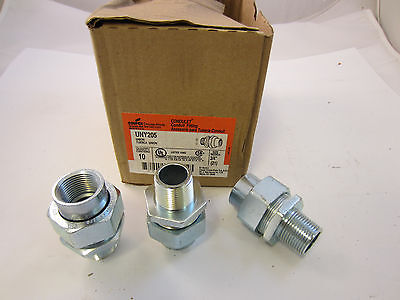 Crouse Hinds Uny205 Explosion Proof Union 34 Malefemale Threads