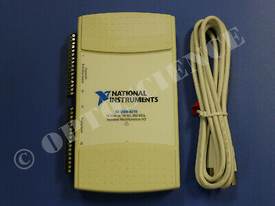 National Instruments Usb-6215 Data Acquisition Card Ni Daq Multifunction
