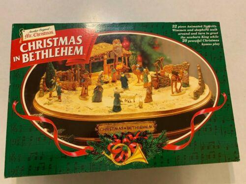Mr. Christmas - Christmas in Bethlehem - Animated Musical Nativity - 1997