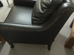 Moran Carlucci Dunbar Leather Chairs. 1st of 2 available. Maroubra Eastern Suburbs Preview