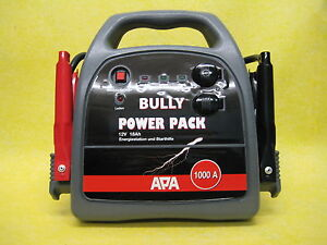 Power Pack Bully Starthilfe, mobile Energiestation, Booster 2. Wahl