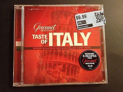 GOURMET ENTERTAINS TASTE OF ITALY CD - Brand New