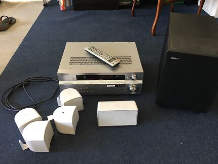 Pioneer Receiver and Jamo Surround Sound Speakers Nerang Gold Coast West Preview