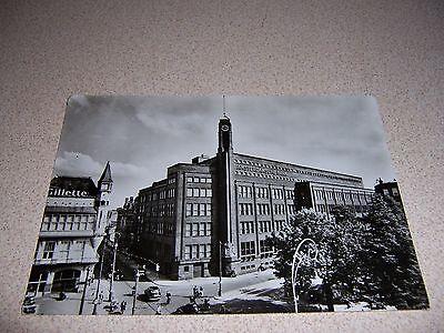 1950s AMSTERDAMSCHE BANK AMSTERDAM VTG REAL-PHOTO POSTCARD