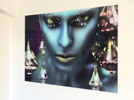 Awesome HD Glass Art Photo Picture Prints 120cm x 80cm - NEW