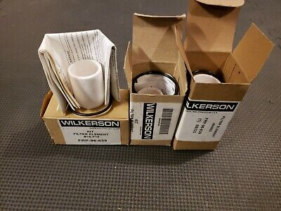 Lot Of 3 New Wilkerson Frp-96-639 Kit Filter Element 454553 6b233 B18-f18