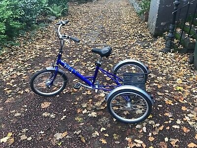 PASHLEY TRI-1 ADULT FOLDING TRIKE great condition