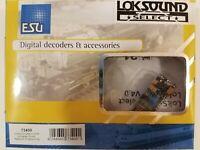 BOWSER Stewart upgrade DCC w//LOK micro sound ESU w//speker select V4 decoder only