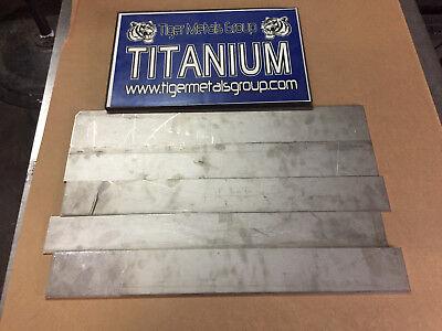 Titanium Plate 6al-4v .078 Thickness 3.375 X 23 42