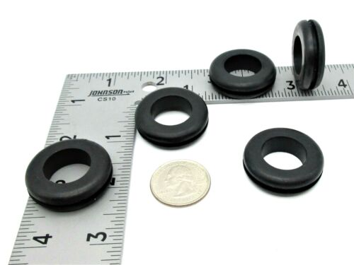 """1 1/8"""" Rubber Grommet  3/4"""" ID x 1 1/2"""" OD  Fits 3/32 - 1/8"""" Thick Materials"""