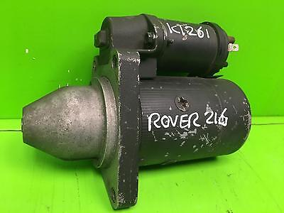 ROVER 200 SERIES Starter Motor 1.4 1.6 Petrol Engine,Manual G/Box 95 96 97 98 99