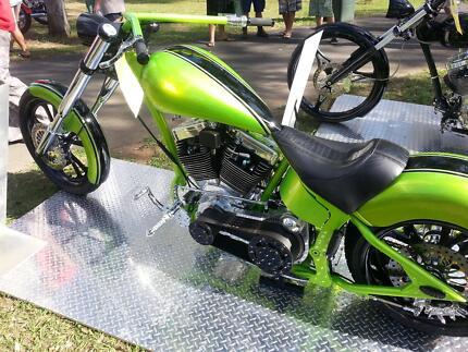 AWARD WINNING CUSTOM CHOPPER MOTORCYCLE Surfers Paradise Gold Coast City Preview