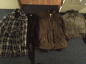 4 Jackets all for 30$