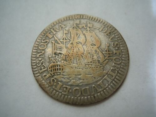 1678 West Friesland 6 Stuivers Nice Coin!