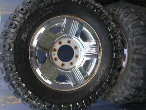 Pro comp 325/60R18 tires 70% on 2008 f350 rims