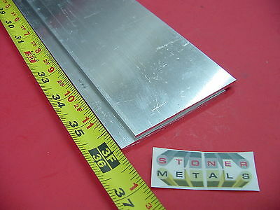 2 Pieces 18 X 3 Aluminum 6061 Flat Bar 36 Long T6511 New Mill Stock .125x 3