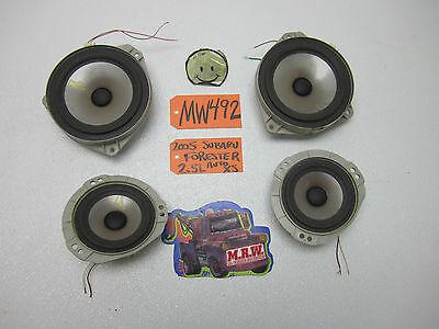 FITS 03-08 SUBARU FORESTER XS XT LL BEAN RADIO DOOR SPEAKER STEREO CAR PANEL CAR