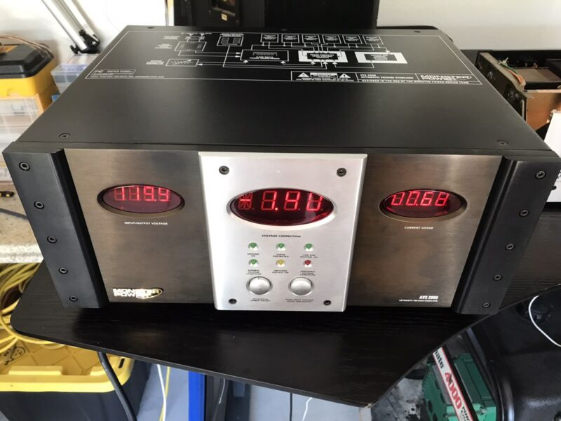 Monster Power AVS 2000 Automatic Voltage Stabilizer