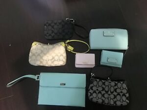 Kate Spade & Coach bags and wallets for sale