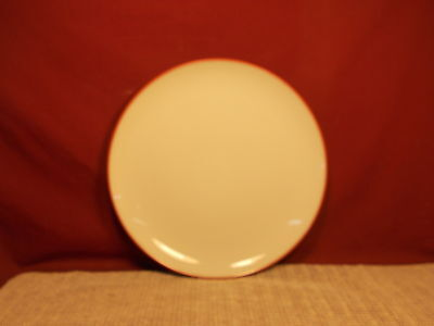 Noritake China Colorwave Raspberry 8045 Pattern Dinner Plate 10 3/4
