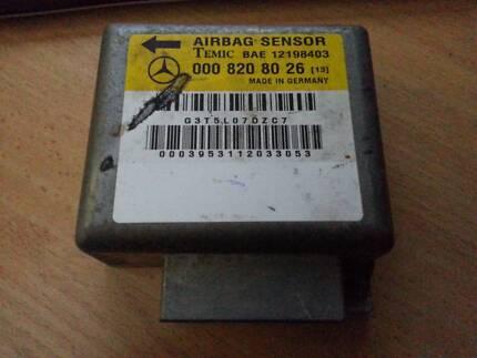 AIRBAG CONTROL MODULE ECU MERCEDES W202 Part Number 0008208026 Glenwood Blacktown Area Preview
