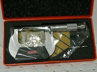 Spi Mechanical Spline Micrometer 25mm 12-459-4