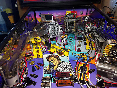 Dirty Harry Pinball mod - *Blood splattered* TV with VIDEO and SOUND!