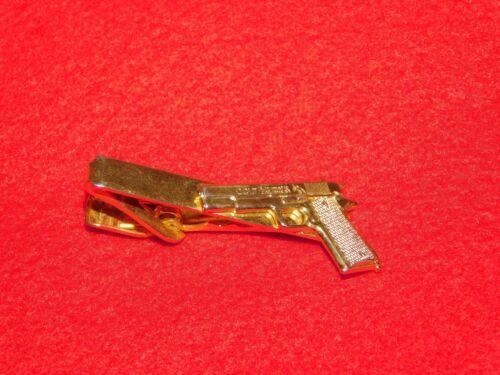 VINTAGE COLT AUTOMATIC 45 GUN PISTOL TIE CLASP