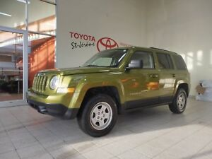 2012 Jeep Patriot * 4X4 * 38 000 KM * JAMAIS ACCIDENTÉ *