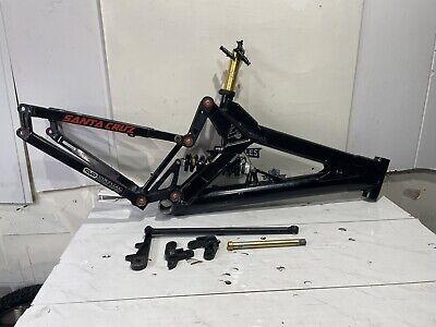 Retro Santa Cruz V10 Frame With Shock Downhill Free Ride
