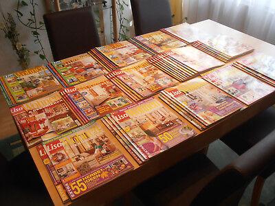 Lisa Wohnen und Dekorieren, insgesamt 58 Hefte, teilweise auch ältere (1998) TOP