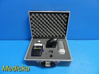 General Radio 1565-b Sound Level Measuring Set W Calibrator Meter Case 20106