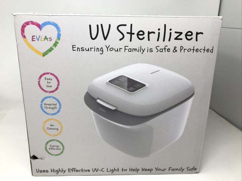 EVLAs UV Sterilizer - White