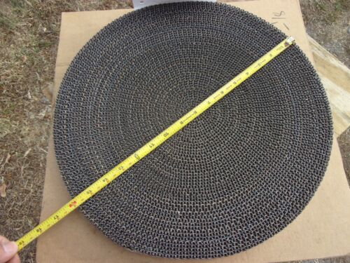 "Cambridge Wire Precision Flat 304 Stainless Steel Mesh Conveyor Belt 1"" W 100"