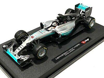 Bburago 1:18 Formula F1 Mercedes AMG 44# Lewis Hamilton Model Racing Car 18001LH