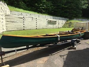 26 ft Sharpe Boat Motor Trailer and Accessories.