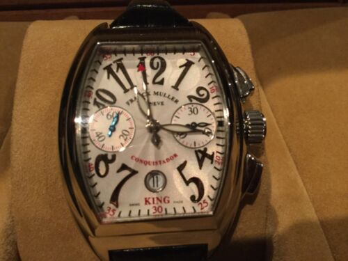 FRANCK MULLER KING CONQUISTADOR 8005 SC Wrist Watch FULL SET 100% AUTHENTIC - watch picture 1