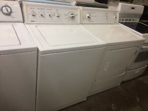 Full size top loader washer and dryer KENMORE