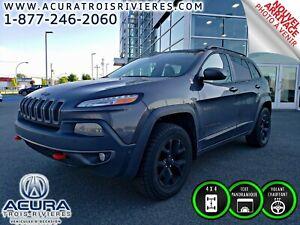 2014 Jeep Cherokee Trailhawk ( GPS, TOIT PANO, CUIR )