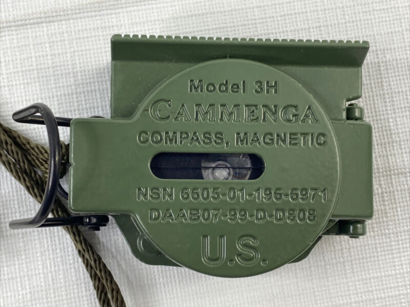 Cammenga 3H Lensatic Compass Official US Military Issue Compass Doesnt Lock