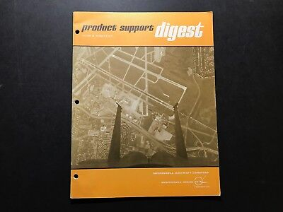 MCDONNELL DOUGLAS 1977 PRODUCT SUPPORT DIGEST- PHOTOS FEATURES MAINTENANCE