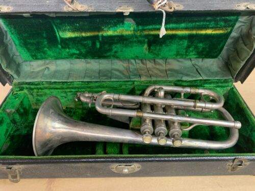 VINTAGE Antique C G Conn Cornet, Dates from 1909!!!