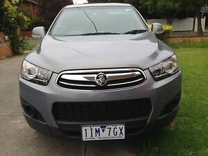 Holden Captiva 7 seater diesel 2013 sx low kms excellent condt Ormond Glen Eira Area Preview
