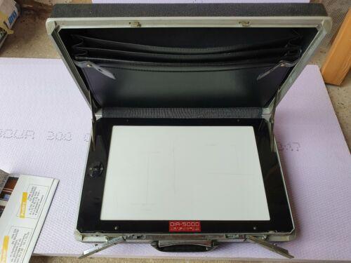 Dia - Leuchtpult im Samsonite Koffer DIA-5000 Negativbetrachter Diabetrachter