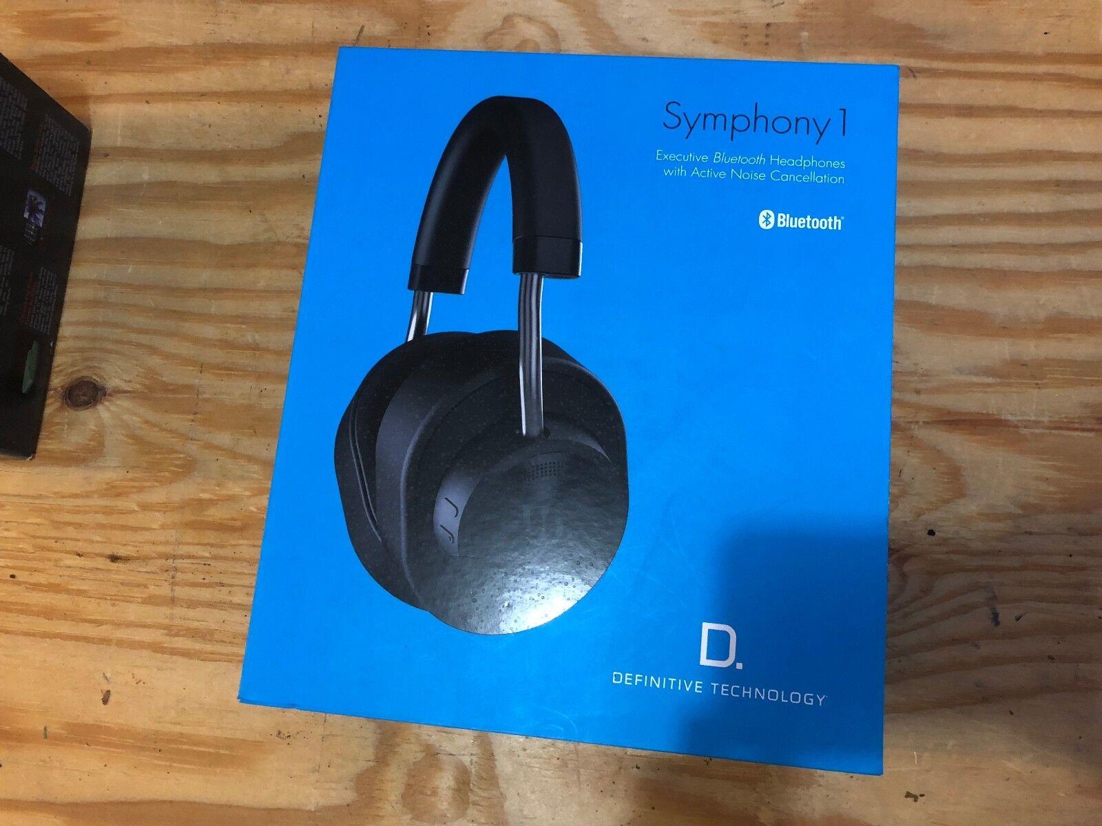 Definitive Technologies Executive Bluetooth Headphones - Symphony 1, used once!